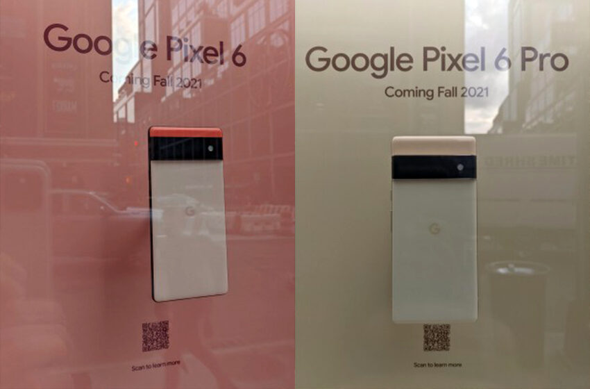 All-New Google Pixel 6 and 6 Pro Spotted On Display At New York City Google Store